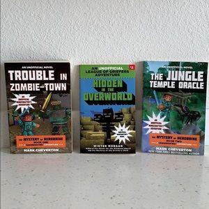 Unofficial Minecrafter's Adventure Books Set